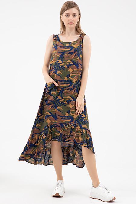 Cepli Kalın Askı Elbise-41035178939