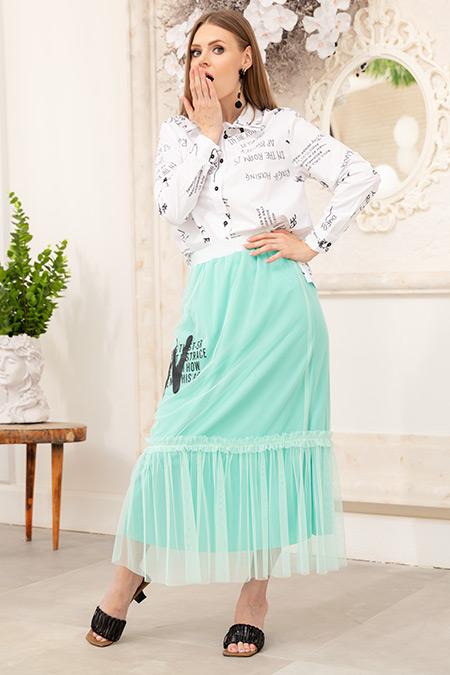 Gömlek Etek İkili Takım-41035180155