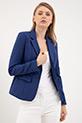 Cepli Blazer Ceket / İndigo
