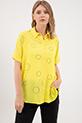Yarasa Kol Gömlek / Sarı