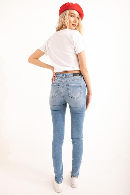 Lıkralı Bılek Boy KoT Pantolon_FUME