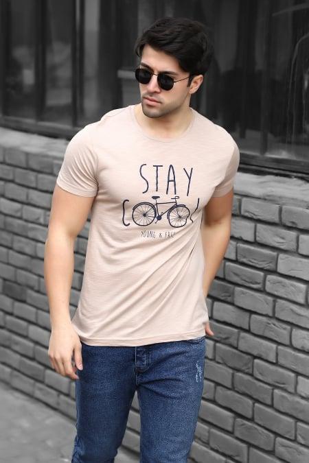 Empirme Baskı Basic T-shirt AC-Y38339LNS-414326119